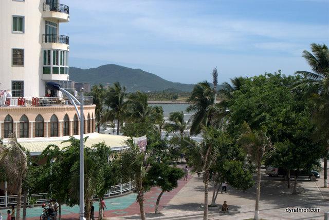 Sanya beach boulevard
