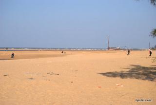 beach on Haidian Island