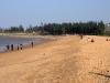 beach on low tide