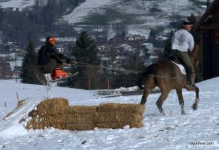 Horse Ski Jump
