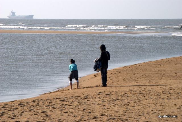Haikou beach in Winter